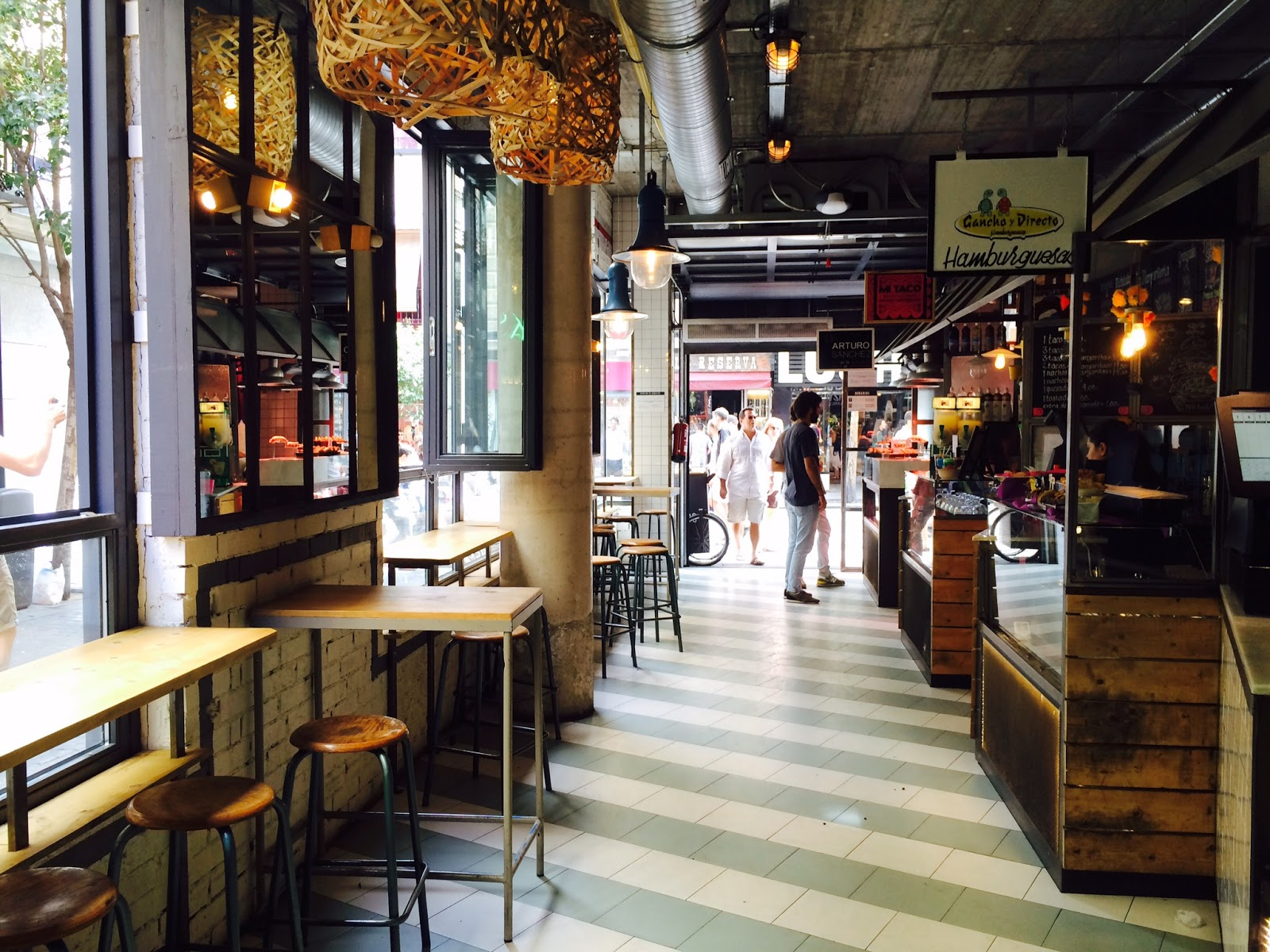 Mercado de San Ildefonso Madrid - Hotspot