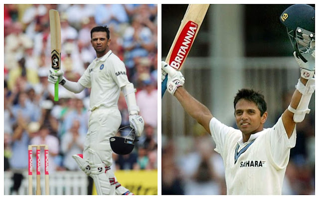 Rahul dravid test match pictures