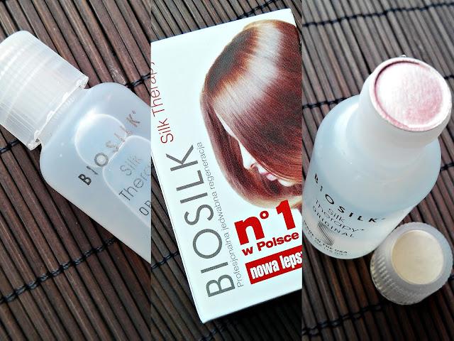 Biosilk, Silk Therapy - Naturalny jedwab do włosów