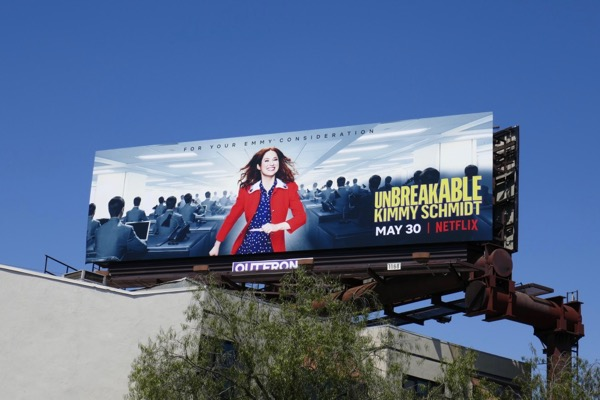 Unbreakable Kimmy Schmidt season 4 billboard