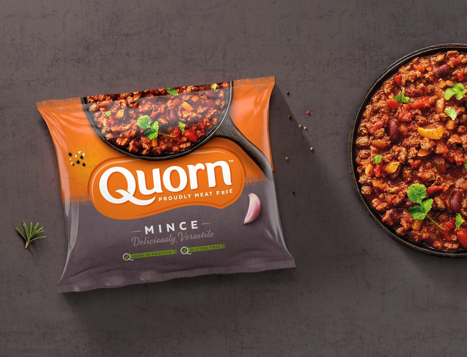 Quorn On Packaging Of The World Creative Package Design