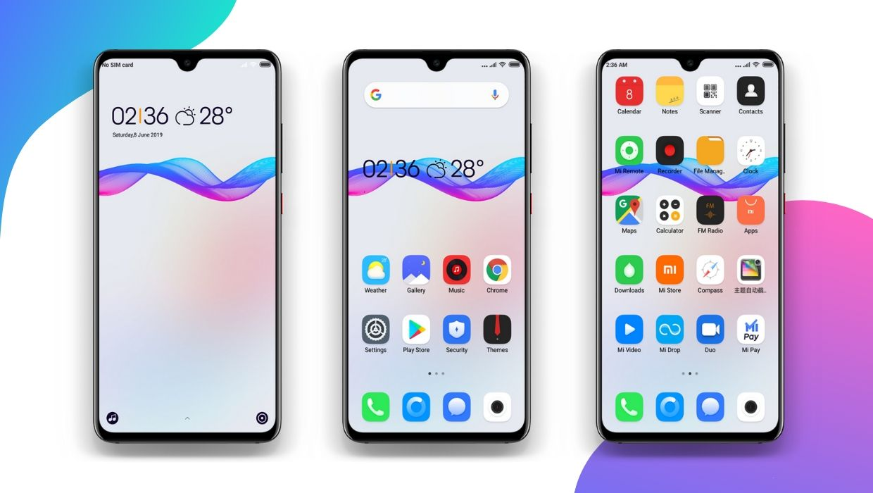 Download COLOR MIUI Theme for Xiaomi Devices