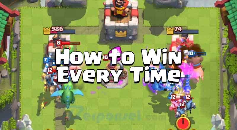 cara ampuh memenangkan battle game clash royal