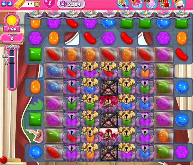 Candy Crush Saga level 2304
