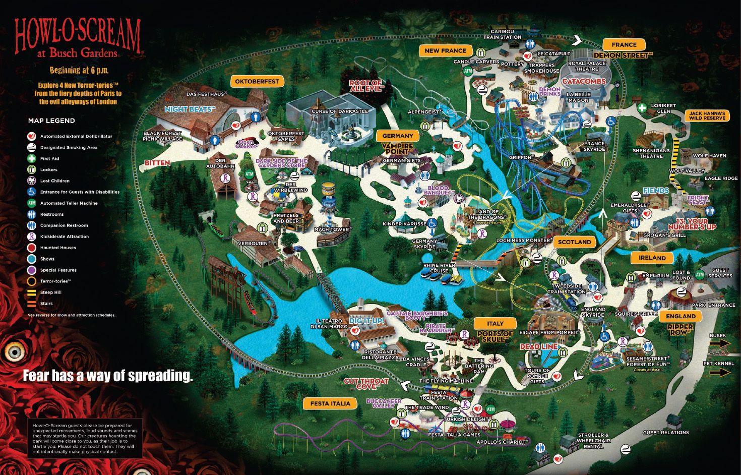 Kitsuneverse hos busch gardens williamsburg howl o - Busch gardens williamsburg halloween ...
