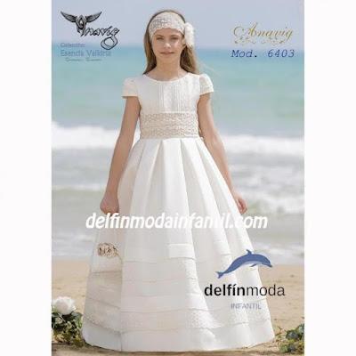 vestido comunion anavig 2019