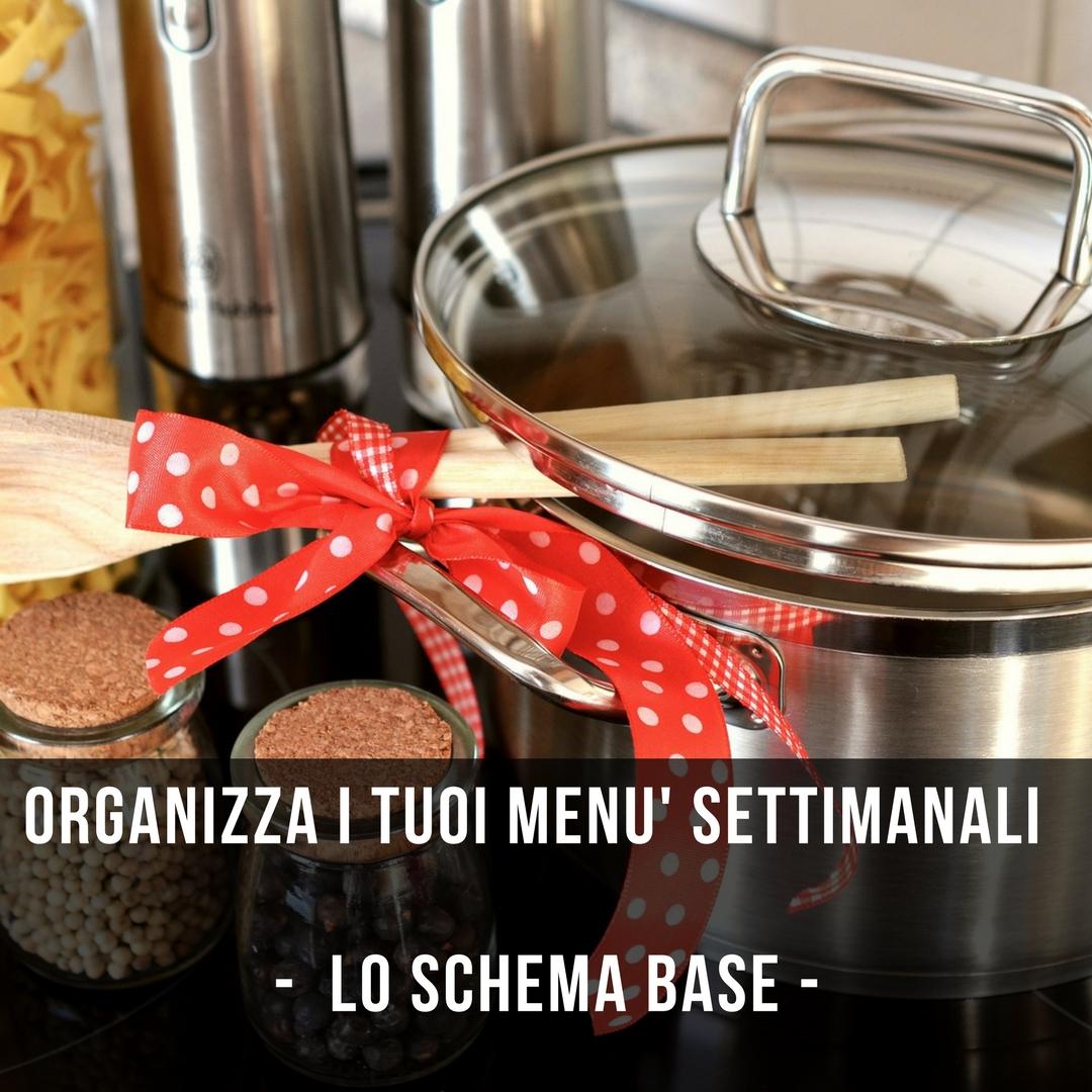 Come Organizzare I Pasti Settimanali maghella di casa : come organizzare i menù della famiglia