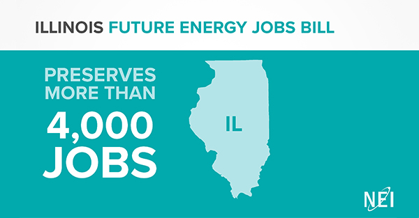 Illinois Future Energy Jobs Bill preserves more than 4,000 jobs