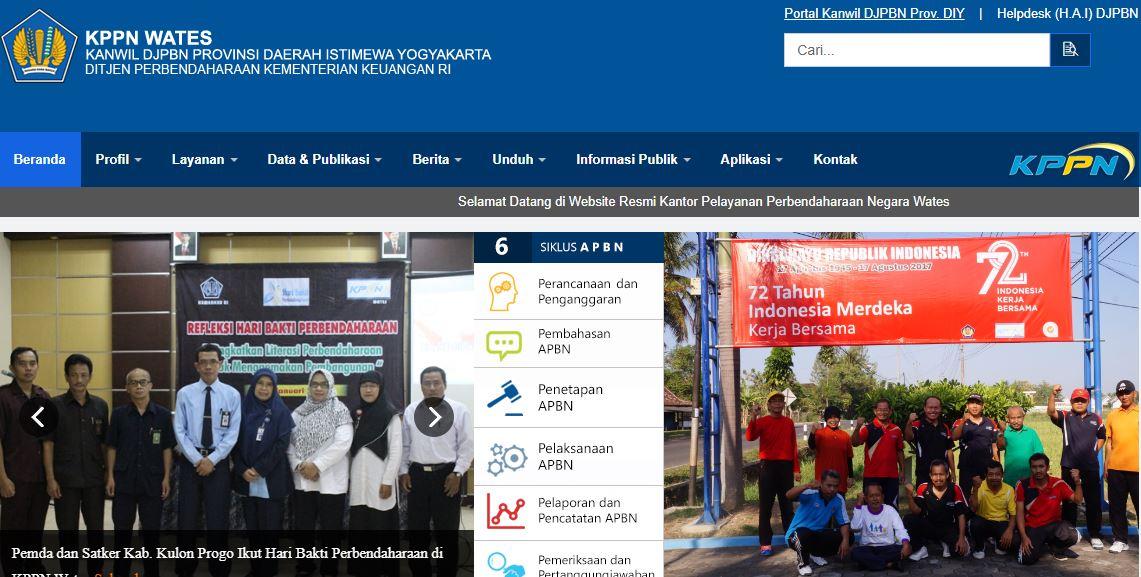 Alamat Lengkap Dan Nomor Telepon Kantor KPPN Di Yogyakarta