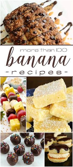 more than 100 banana recipes