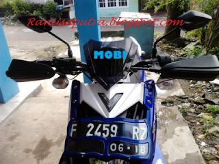 Motor Yamaha Xrideku si Mobi