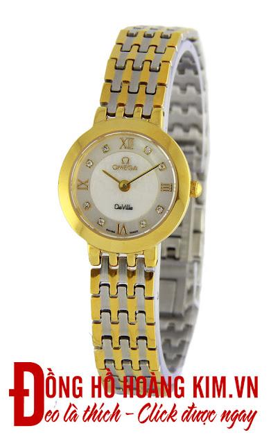 Đồng hồ nữ Omega dây inox giá rẻ