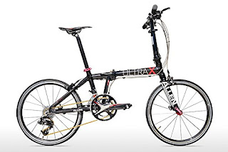Allen Sports Ultra X Superlight Carbon bike, Ultra X folding bike, folding bike, bicycle
