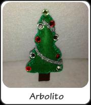 Broche arbolito navideño