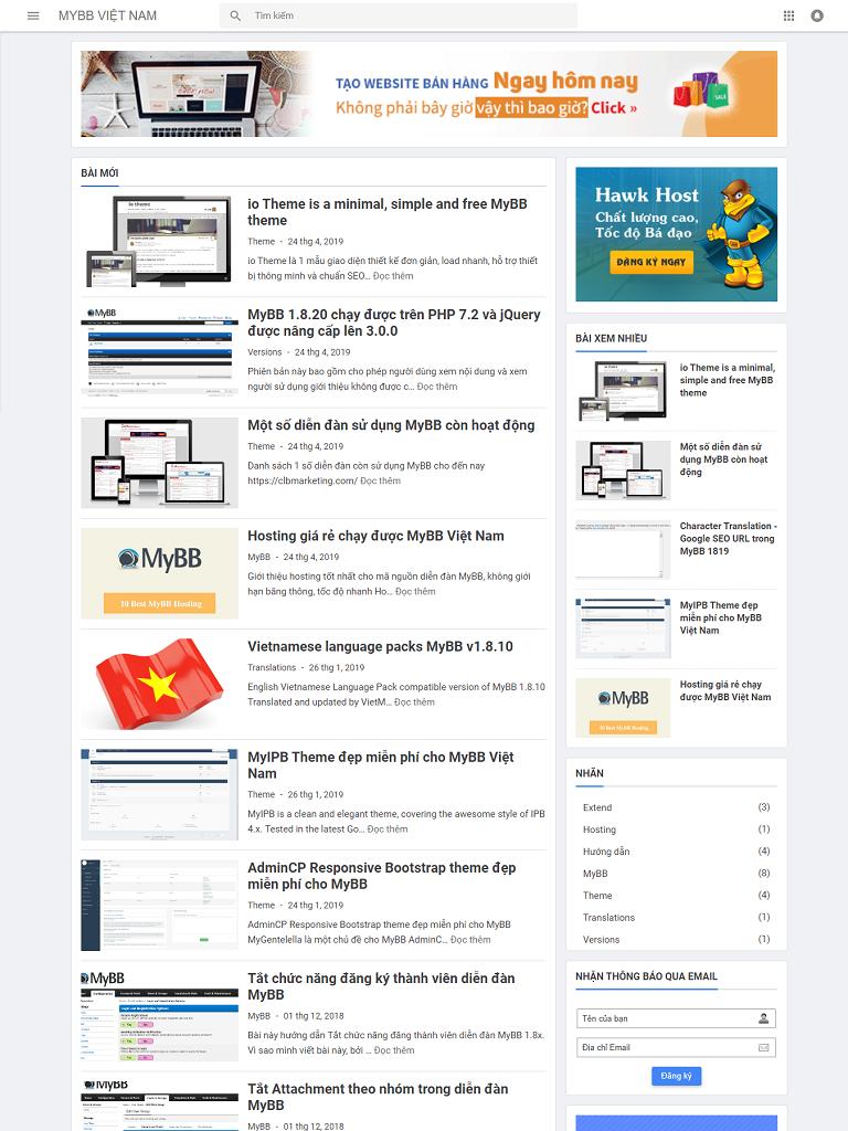 Chia Sẻ Việt Blogger Template bản miễn phí - Ảnh 1