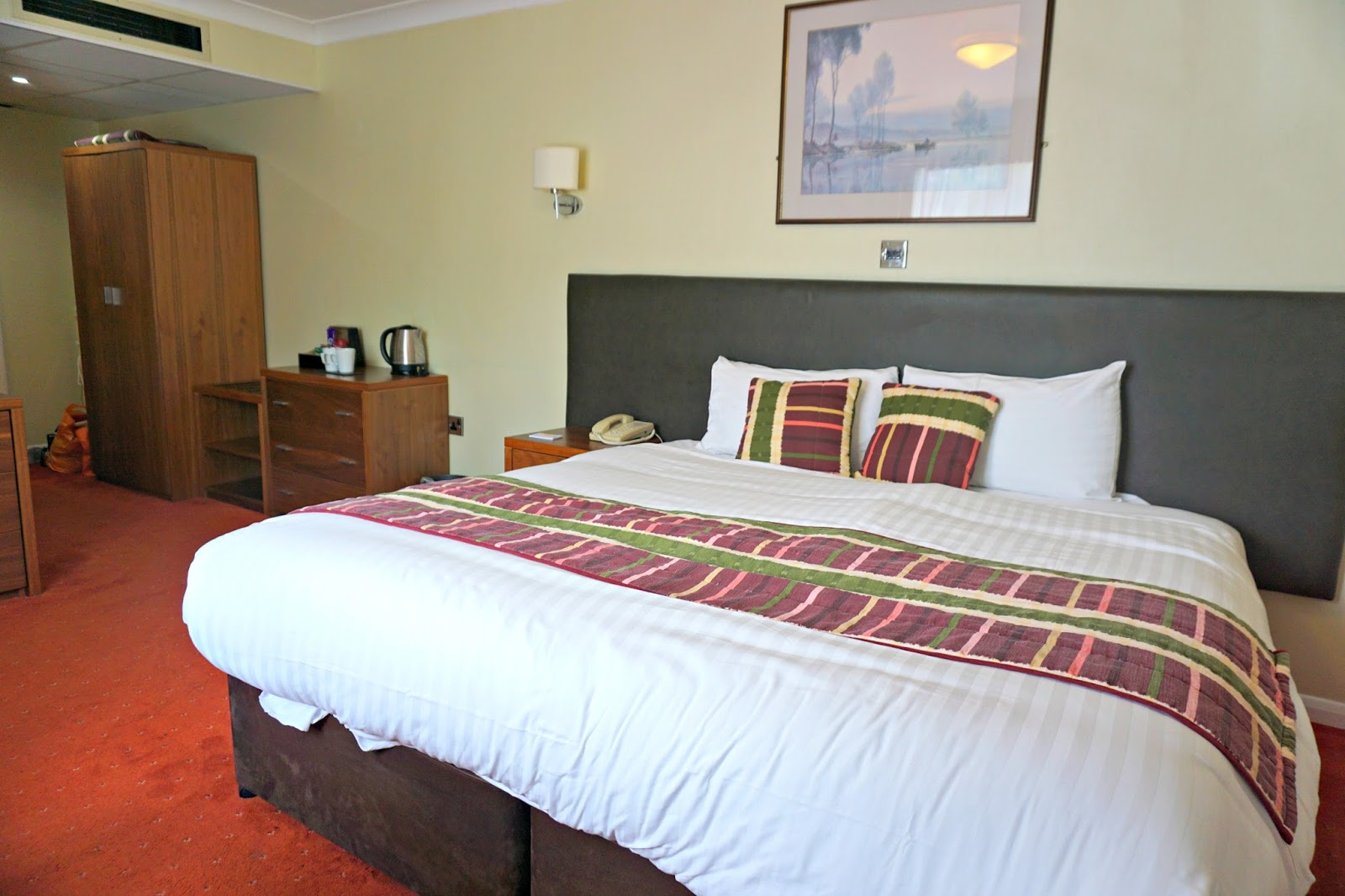 The Milford Hall Hotel Salisbury Wiltshire Stonehenge Amesbury Bedroom Blog Review