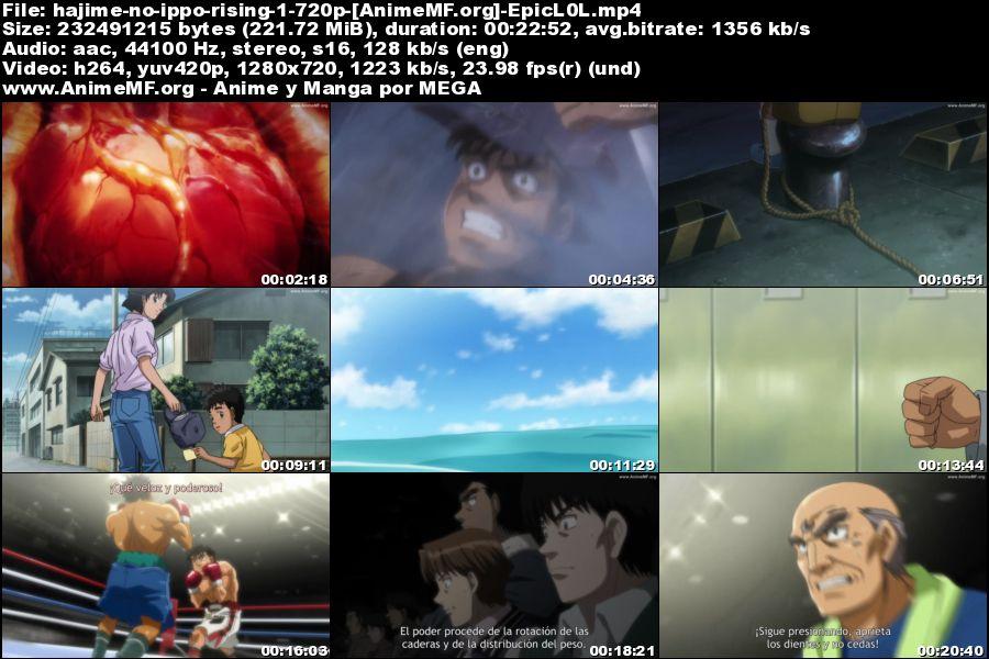 Descargar Hajime no Ippo: Rising MP4 HD Sub Español MEGA