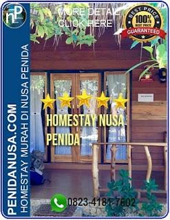 Harga homestay di Nusa Penida