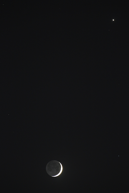 Moon venus and Earth sine: Gadi Eidelheit.