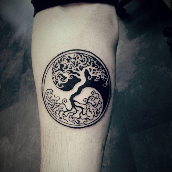 50 Tatuajes De Yin Yang Para Mujeres Y Cual Es Su Significado