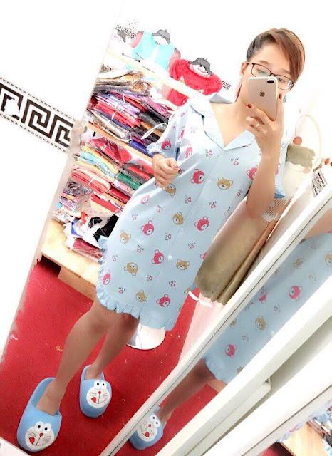 Đầm dài mặc nhà kiểu mới nhất