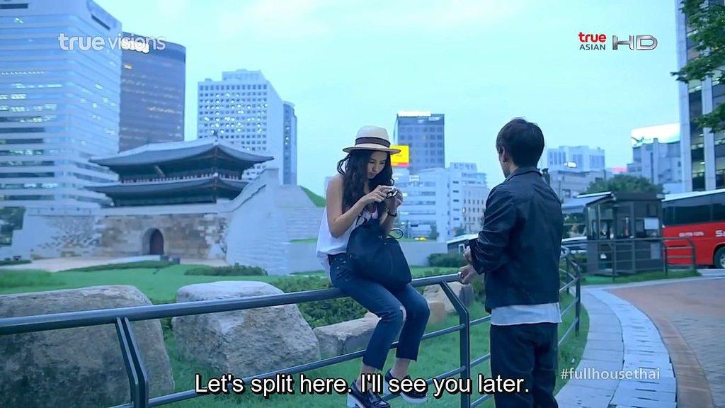 태국 드라마에 나오는 한국의 모습