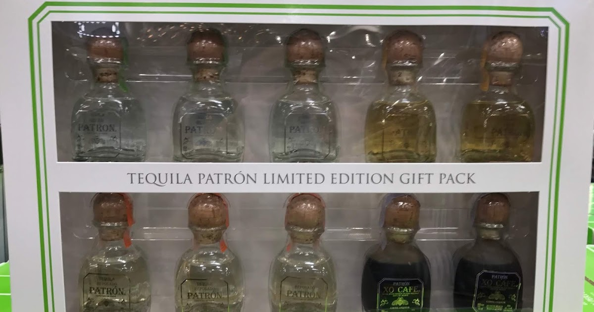 Patron Tequila Limited Edition Gift Pack Costco Weekender