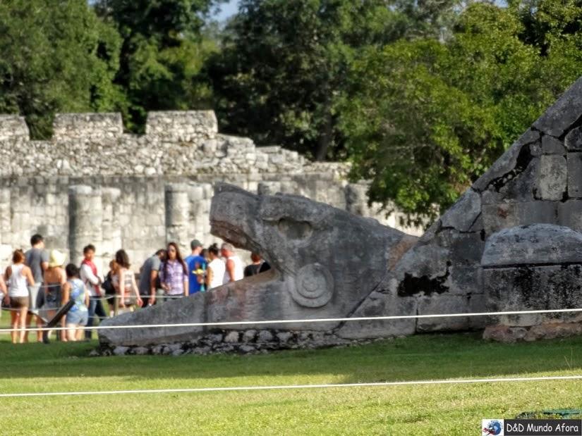 Passeio em Chichen Itza: cidade maia no México