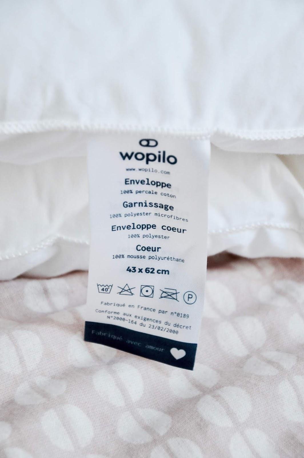 Wopilo : l'oreiller qui va changer vos nuits