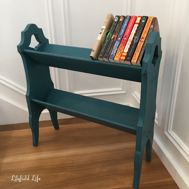 hand painted book stand