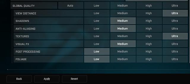 Rogue Company için gecikmeyi düzeltmek ve FPS'yi artırmak için Grafik Ayarları