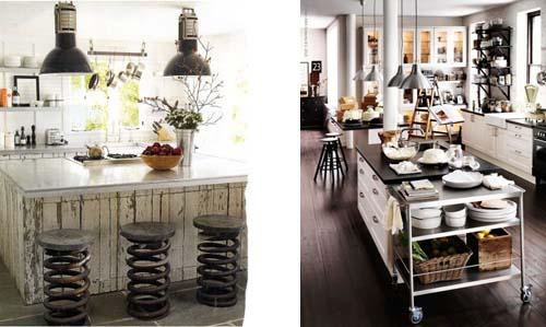 Una cucina dal gusto industriale arredamento facile - Cucine stile industriale vintage ...