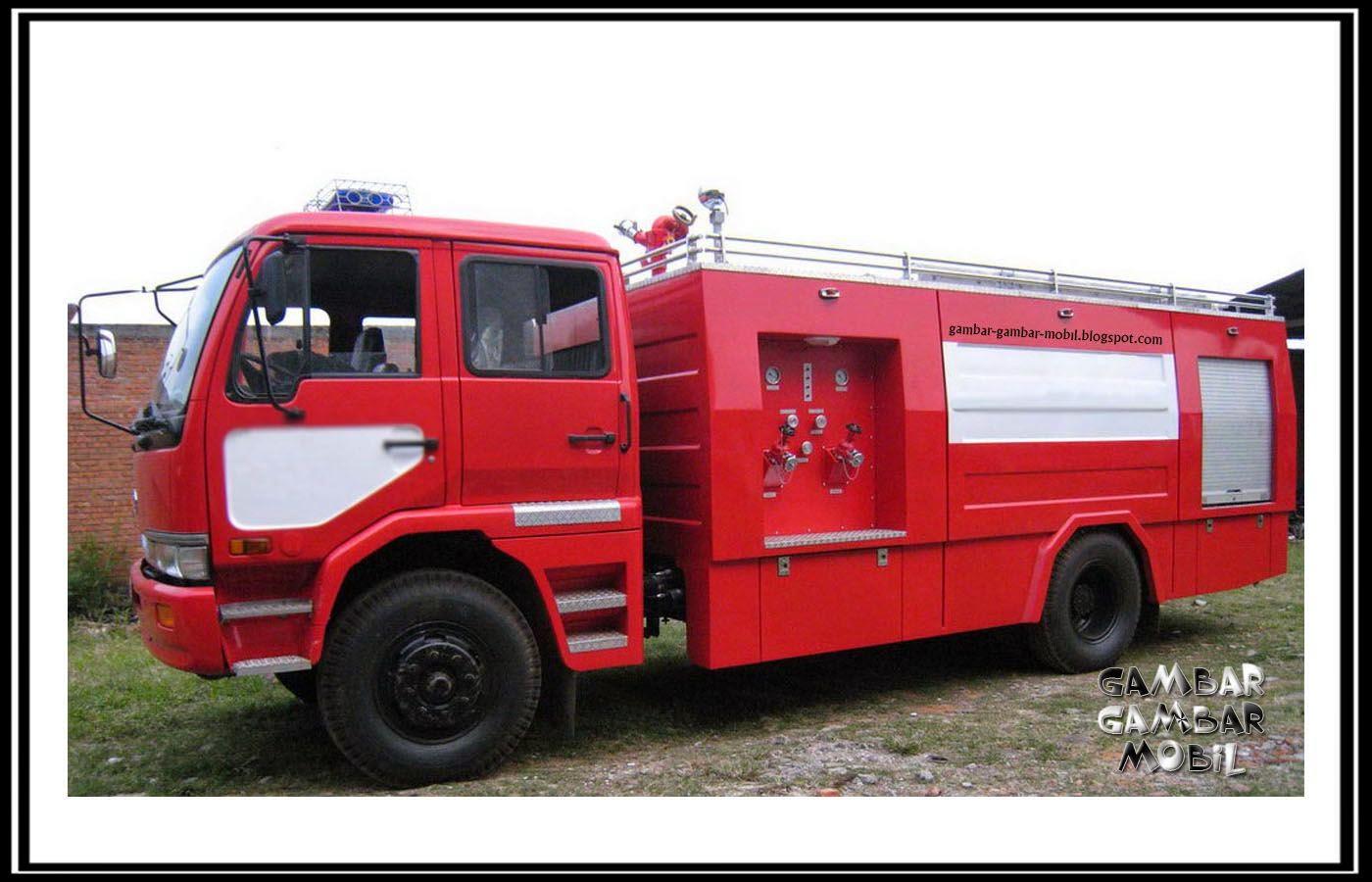 Gambar mobil pemadam kebakaran Pemadam kebakaran, Mobil