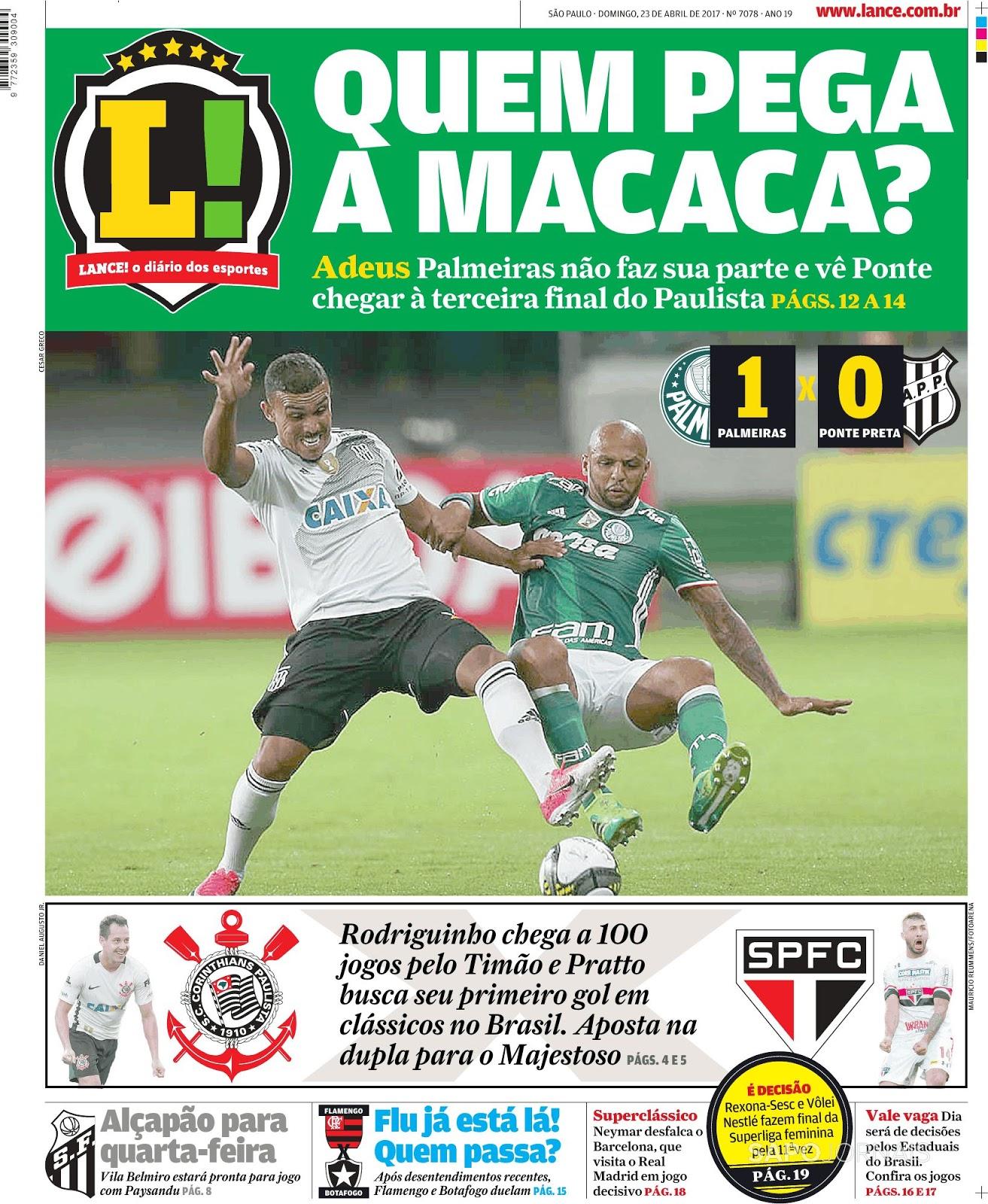 Ponte Preta elimina Palmeiras e vai disputar terceira final no ... 3f957ccccf2d7