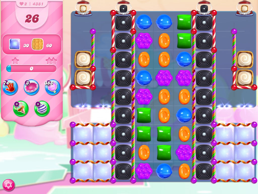 Candy Crush Saga level 4381