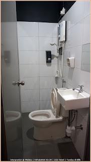 Gambar tandas ZZZ Hotel.