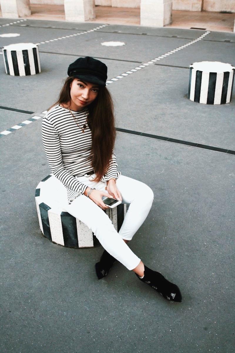 street style paris 2017 colonne buren blog mode marion trumier