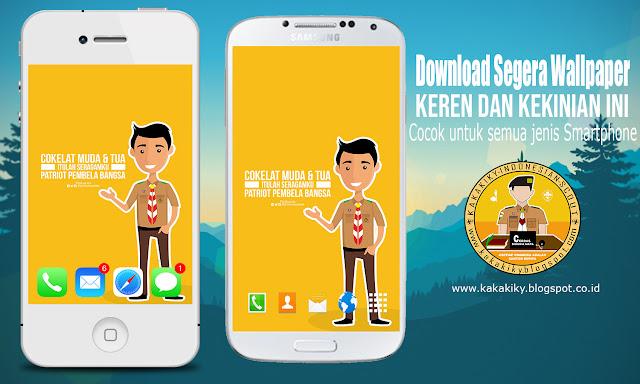 Download Wallpaper Pramuka Coklat Bau Tanah Dan Muda Itulah Seragamku