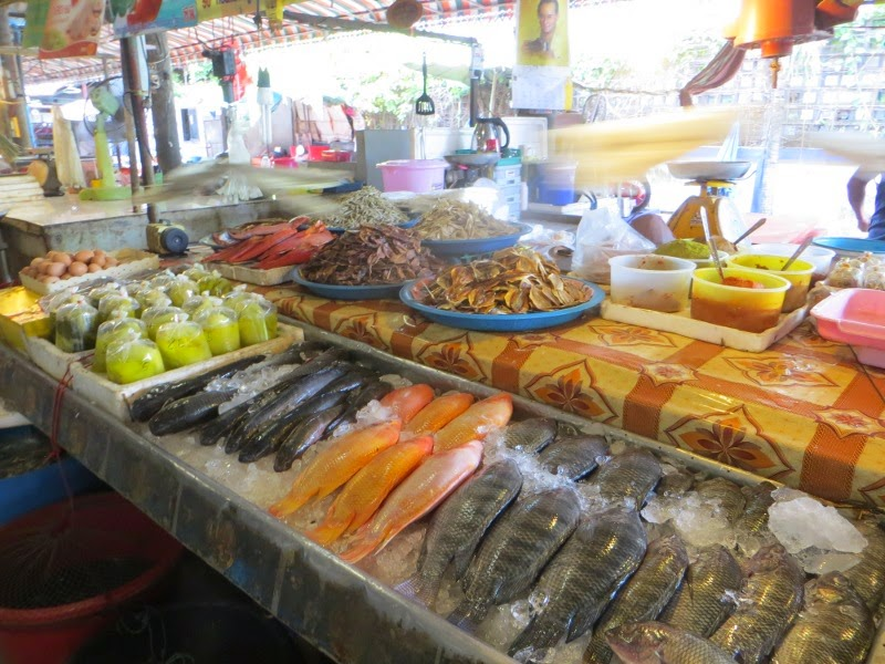 Рыба на рынке.