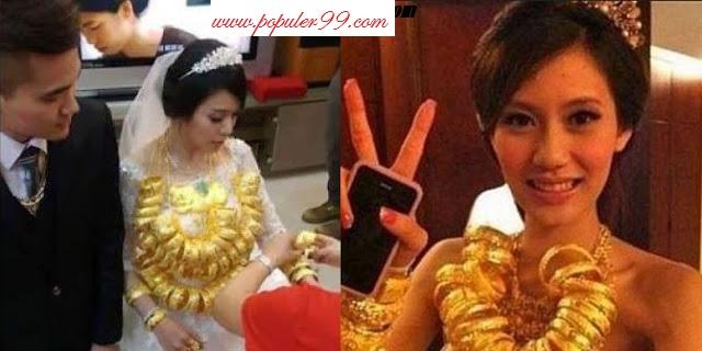 Sungguh Sangat Beruntung Zelviana TKW Asal Indonesia Ini Bernasib Mujur Dinikahi Majikannya Dengan Mahar Emas Setoko. Share
