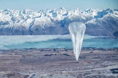 Uji coba balon google di selandia baru