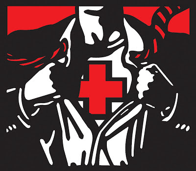 The British Red Cross super hero