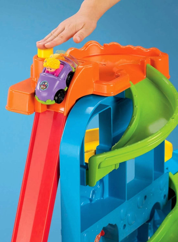 Fisher Price Wheelies Loops N Swoops Amusement Park