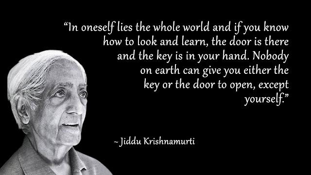 Jiddu Krishnamurti Quotes