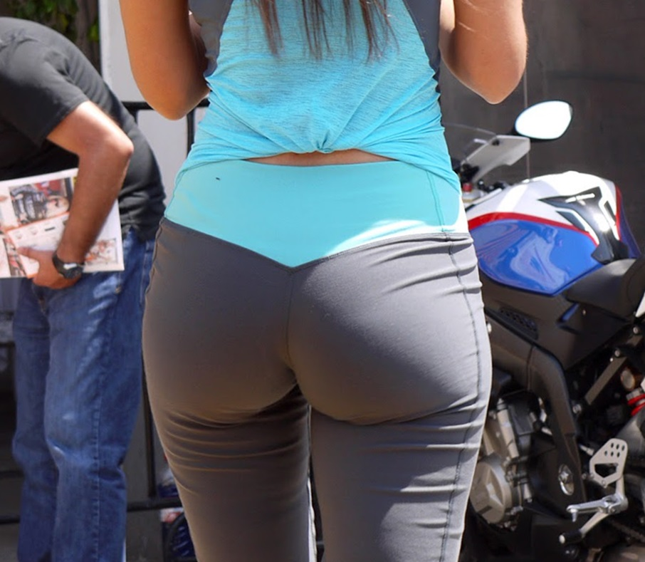 Super Promo Girls In Spandex Perfect Ass-6751