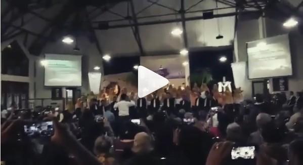 Viral Video Mahasiswa STAIN Salatiga Jadi Choir Perayaan Paskah di Gereja