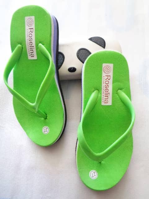 Wedges RSL Polos BJG Anak - Produsen sandal tangerang