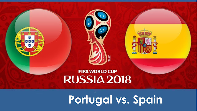 Portugal vs Spain Full Match Replay 15 June 2018