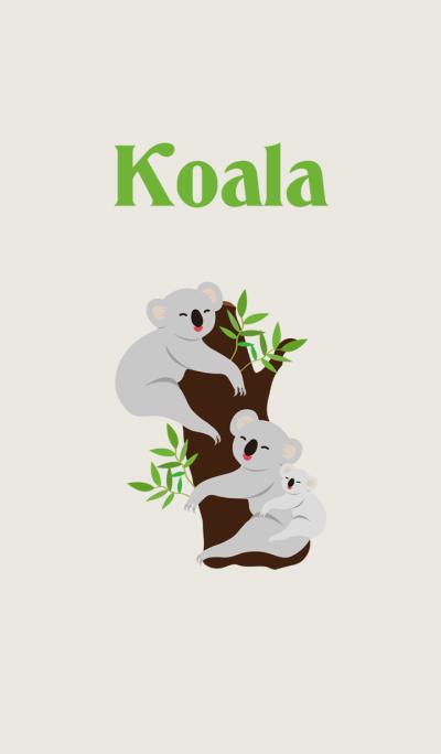 Cute humor Koala