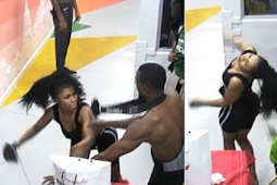 BBNAIJA Disqualifies Tacha From Reality Show After She Fought Dirty With Mercy